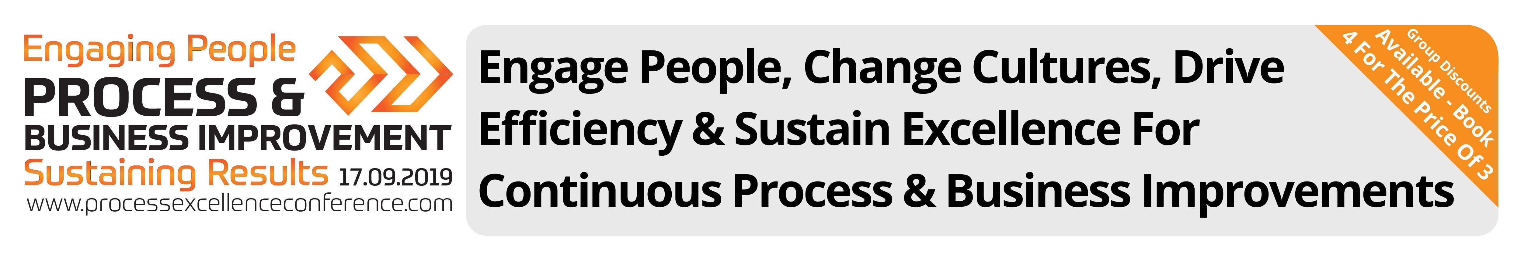 Process & Business Improvement Conference